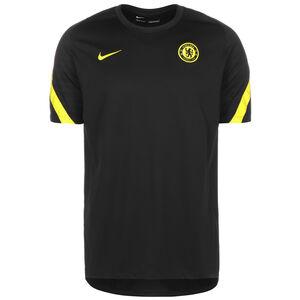 FC Chelsea Strike Trainingsshirt Herren, schwarz / gelb, zoom bei OUTFITTER Online