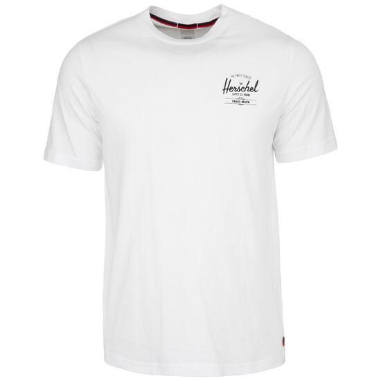 Tee T-Shirt Herren, weiß 1 / schwarz, zoom bei OUTFITTER Online