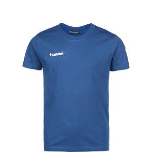 Cotton T-Shirt Kinder, blau, zoom bei OUTFITTER Online