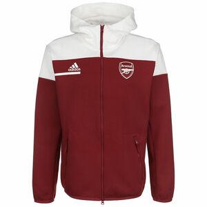 FC Arsenal Z.N.E. Kapuzenjacke Herren, rot / weiß, zoom bei OUTFITTER Online