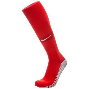 Team MatchFit Over-the-Calf Sockenstutzen, rot / weiß, zoom bei OUTFITTER Online