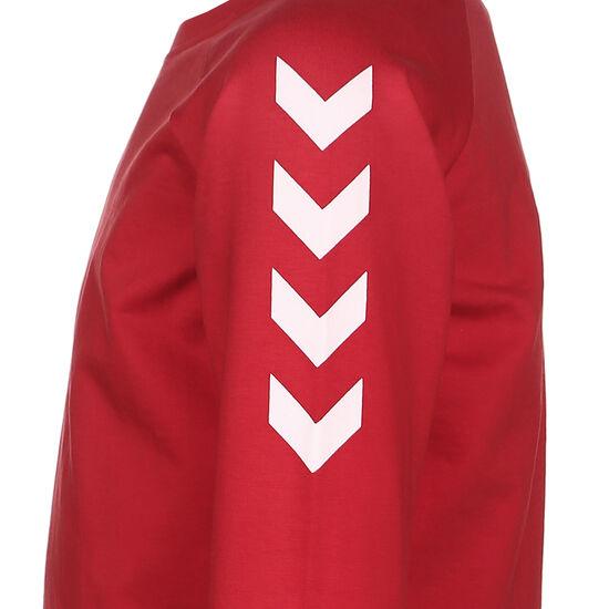 Hmlgo Cotton Sweatshirt Kinder, rot / weiß, zoom bei OUTFITTER Online