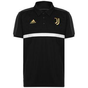 Juventus Turin 3S Poloshirt Herren, schwarz / weiß, zoom bei OUTFITTER Online
