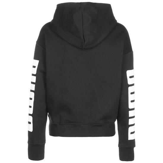 Rebel Fleece Kapuzenpullover Damen, schwarz, zoom bei OUTFITTER Online