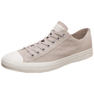 Chuck Taylor All Star OX Sneaker, beige / weiß, zoom bei OUTFITTER Online