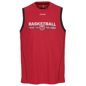 Team Basketballtank Herren, rot / schwarz, zoom bei OUTFITTER Online