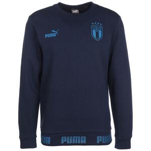 FIGC Italien FtblCulture Sweatshirt EM 2021 Herren, dunkelblau / blau, zoom bei OUTFITTER Online