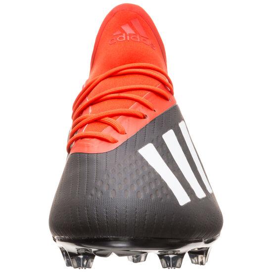 X 18.2 FG Fußballschuh Herren, schwarz / rot, zoom bei OUTFITTER Online