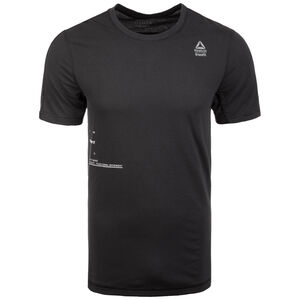 CrossFit Mesh Move Trainingsshirt Herren, schwarz, zoom bei OUTFITTER Online