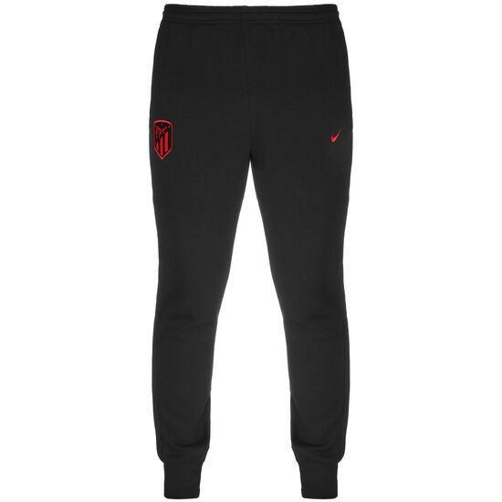 Atletico Madrid Fleece Trainingshose Herren, schwarz / rot, zoom bei OUTFITTER Online