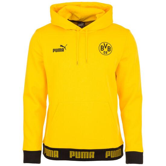Borussia Dortmund FtblCulture Kapuzenpullover Herren, gelb / schwarz, zoom bei OUTFITTER Online