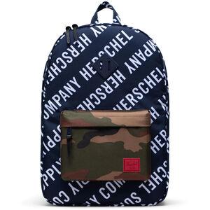 Heritage Rucksack, dunkelblau / weiß, zoom bei OUTFITTER Online