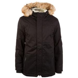 Heavy Cotton Imitation Fur Parka Herren, schwarz, zoom bei OUTFITTER Online