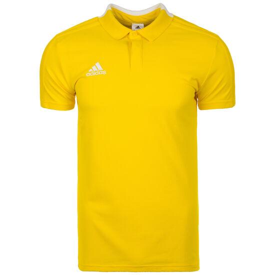 Condivo 18 Cotton Poloshirt Herren, gelb / weiß, zoom bei OUTFITTER Online
