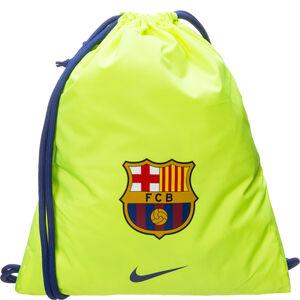 FC Barcelona Stadium Football Turnbeutel, neongelb / blau, zoom bei OUTFITTER Online