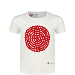 Marimekko Primegreen T-Shirt Kinder, weiß / rot, zoom bei OUTFITTER Online