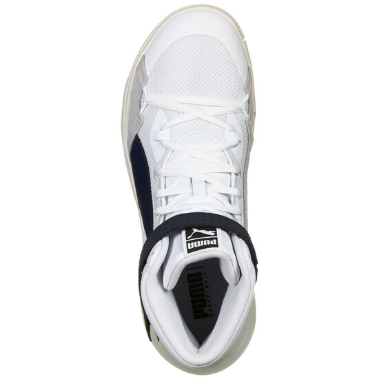 Sky Modern Basketballschuh Herren, weiß / dunkelblau, zoom bei OUTFITTER Online
