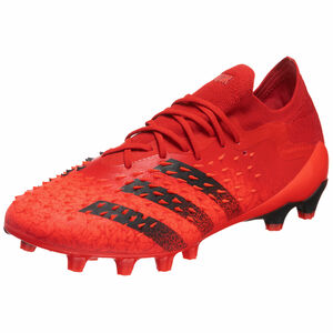 Predator Freak .1 L AG Fußballschuh Herren, rot / schwarz, zoom bei OUTFITTER Online