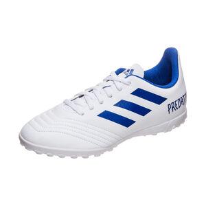 Predator 19.4 TF Fußballschuh Kinder, weiß / blau, zoom bei OUTFITTER Online
