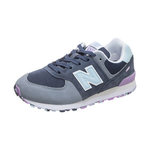 GC574-M Sneaker Kinder, blau / pink, zoom bei OUTFITTER Online