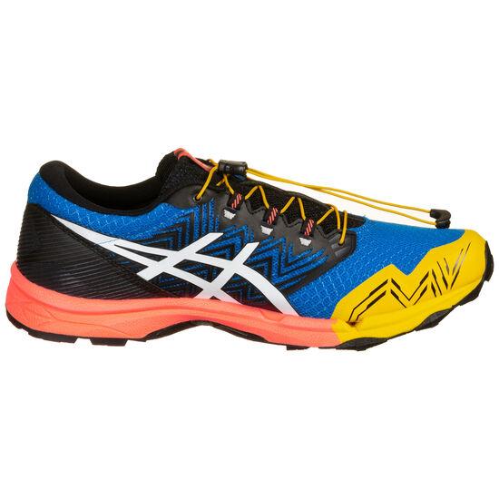 Gel-FujiTrabuco SKY Laufschuh Herren, blau / gelb, zoom bei OUTFITTER Online