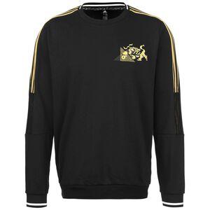 Juventus Turin Chinese New Year Sweatshirt Herren, schwarz / gelb, zoom bei OUTFITTER Online