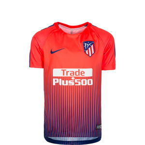 Atletico Madrid Dry Squad GX Trainingsshirt Kinder, Orange, zoom bei OUTFITTER Online