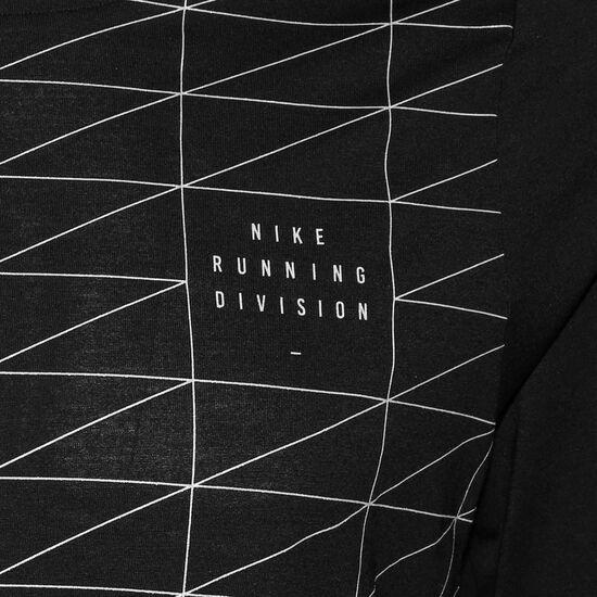 Run Divison Rise 365 Laufshirt Herren, schwarz / silber, zoom bei OUTFITTER Online