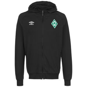 SV Werder Bremen Travel Kapuzenjacke Herren, schwarz, zoom bei OUTFITTER Online