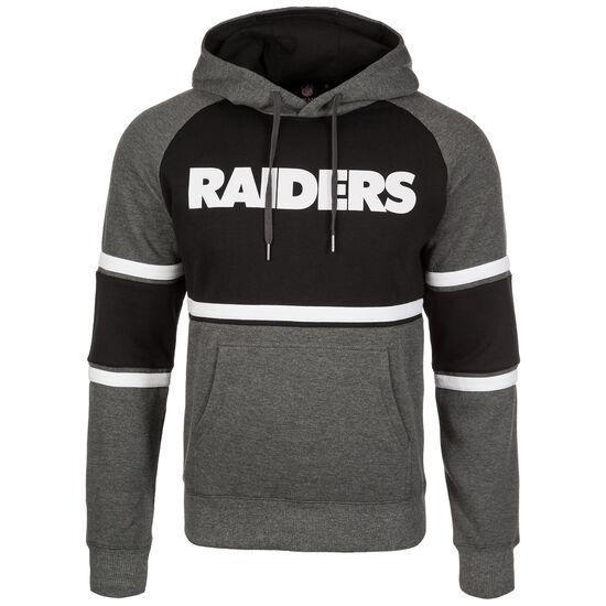 NFL Oakland Raiders Block Kapuzenpullover Herren, Schwarz, zoom bei OUTFITTER Online