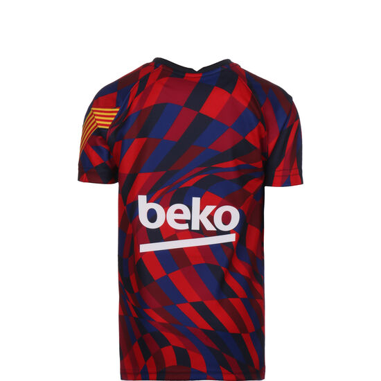 FC Barcelona Dry Trainingsshirt Kinder, rot / blau, zoom bei OUTFITTER Online