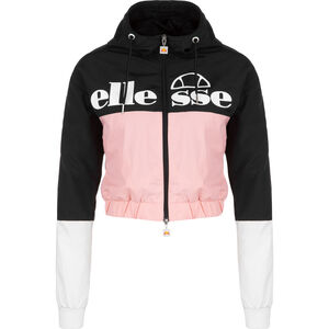 Colourblock Deve Jacke Damen, schwarz / rosa, zoom bei OUTFITTER Online