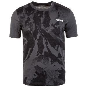 Essentials Allover Printed T-Shirt Herren, anthrazit / schwarz, zoom bei OUTFITTER Online