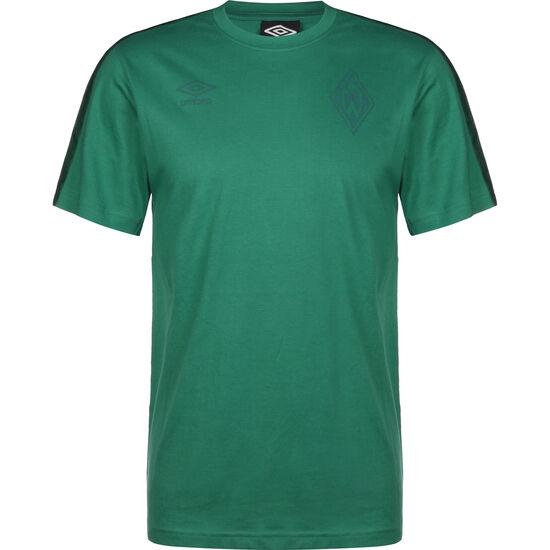 SV Werder Bremen Taped T-Shirt Herren, grün, zoom bei OUTFITTER Online