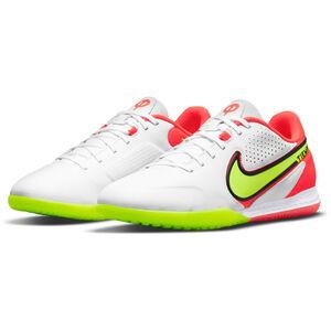 React Tiempo Legend 9 Pro Indoor Fußballschuh Herren, weiß / neongelb, zoom bei OUTFITTER Online
