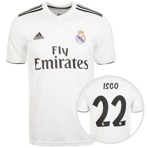 Real Madrid Trikot Home Isco 2018/2019 Herren, Weiß, zoom bei OUTFITTER Online