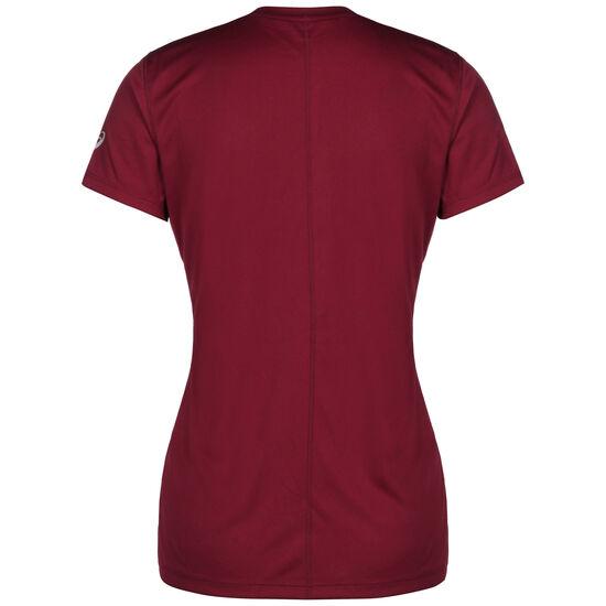 Silver Top Graphic Laufshirt Damen, weinrot / korall, zoom bei OUTFITTER Online
