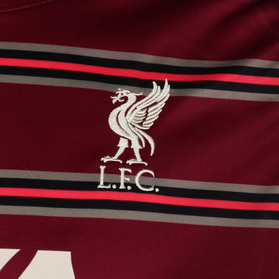 FC Liverpool Pre-Match Trainingsshirt Herren, dunkelrot / rot, zoom bei OUTFITTER Online