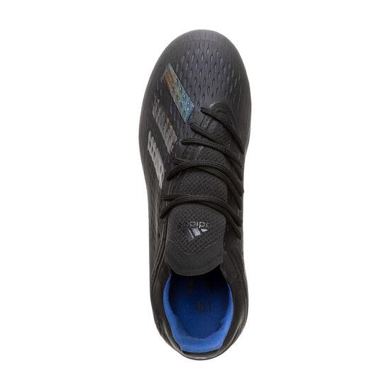 X 18.1 FG Fußballschuh Kinder, schwarz / blau, zoom bei OUTFITTER Online