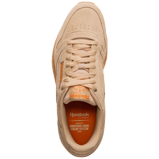 Classic Leather MU Sneaker, braun / orange, zoom bei OUTFITTER Online