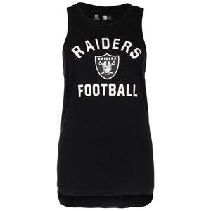 NFL Oakland Raiders Graphic Tanktop Damen, schwarz / weiß, zoom bei OUTFITTER Online