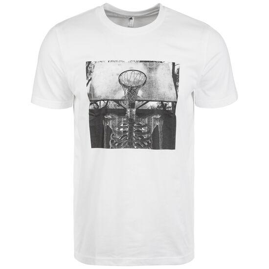 Skull Ball T-Shirt, weiß, zoom bei OUTFITTER Online