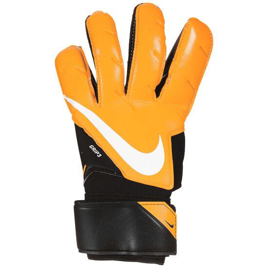 Goalkeeper Grip3 Torwarthandschuhe, schwarz / orange, zoom bei OUTFITTER Online