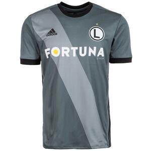 KP Legia Warschau Trikot Away 2017/2018 Herren, Grau, zoom bei OUTFITTER Online