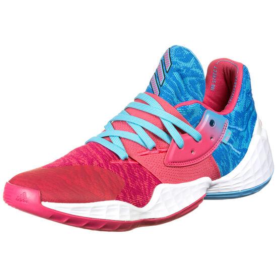 Harden Vol. 4 Basketballschuhe Herren, rot / blau, zoom bei OUTFITTER Online