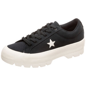 One Star Lugged OX Sneaker Damen, schwarz, zoom bei OUTFITTER Online