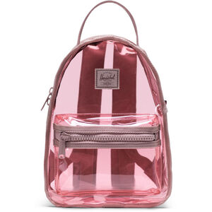 Clear Bags Nova Mini Rucksack, rosa / braun, zoom bei OUTFITTER Online