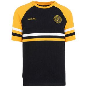DMWU T-Shirt Herren, schwarz / gelb, zoom bei OUTFITTER Online