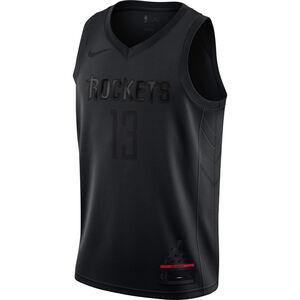 NBA MVP Swingman James Harden Basketballtrikot Herren, schwarz, zoom bei OUTFITTER Online