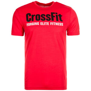 CrossFit Forging Elite Fitness Trainingsshirt Herren, neonrot, zoom bei OUTFITTER Online